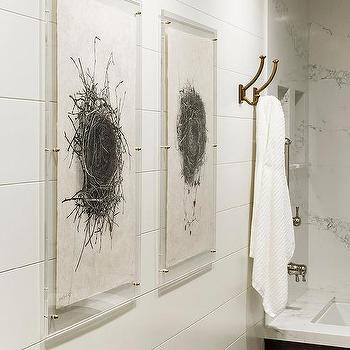 Bird nest chandelier design ideas sepia birds nest art in acrylic frames mozeypictures Images