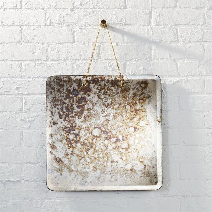 Shiny Brass Wall Discs Art