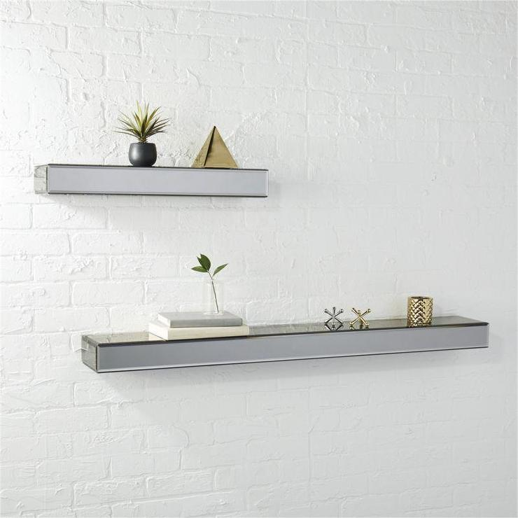 Mirrored Floating Shelf Uk Mirror Ideas