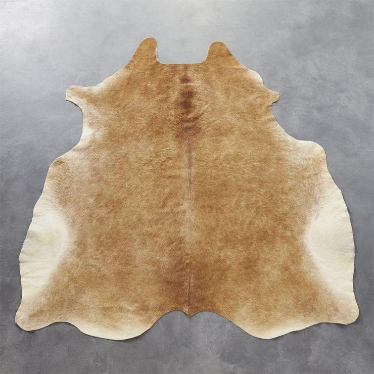 Brown Natural Cowhide Rug