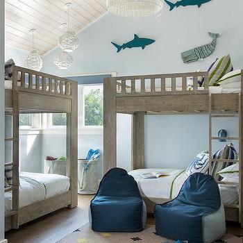 Blue Octopus Bed Pillows Design Ideas