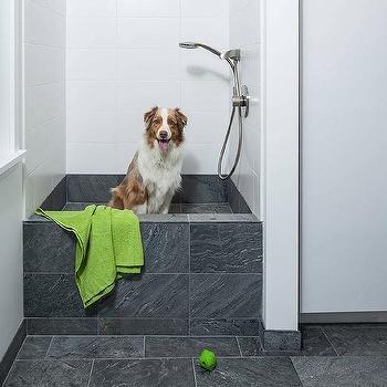 Wonderful Laundry Room With Dog Bath Shower