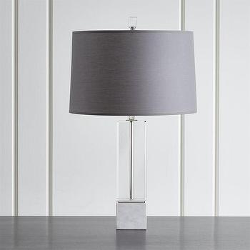 Kashmir Pierced Silver Cylinder Table Lamp