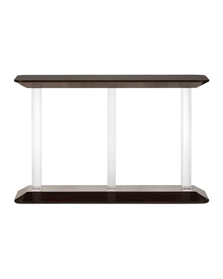 Ghost Acrylic Clear Console Table