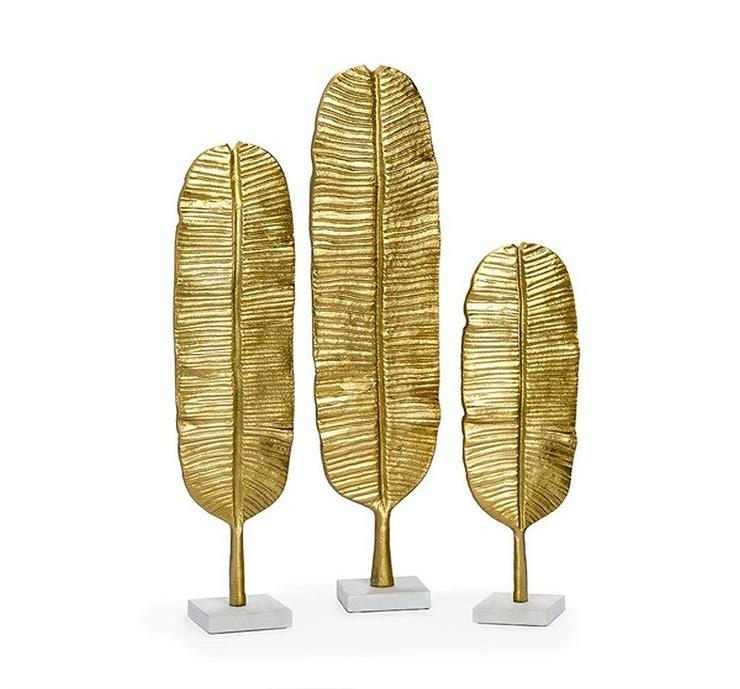 Gold Metal Leaf Wall Decor - Products, bookmarks, design ...