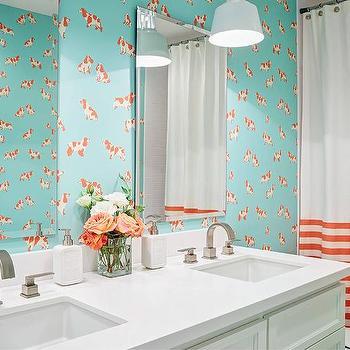 Turquoise and orange bathroom 28 images orange and for Blue and orange bathroom