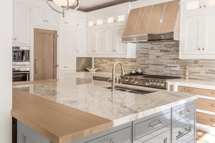Walnut Stained Kitchen Drawer Fronts - Contemporary - Kitchen