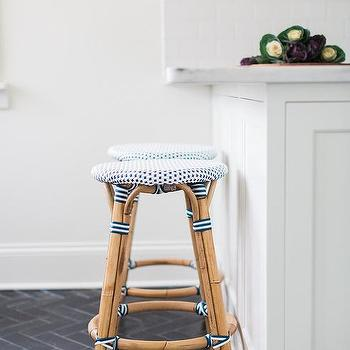 Astonishing Backless Blue French Bistro Stools Design Ideas Pabps2019 Chair Design Images Pabps2019Com