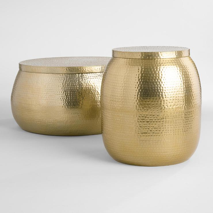 Gold Cala Occasional Table Collection