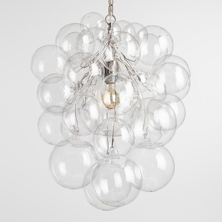 Bubble glass orb chandelier aloadofball Image collections