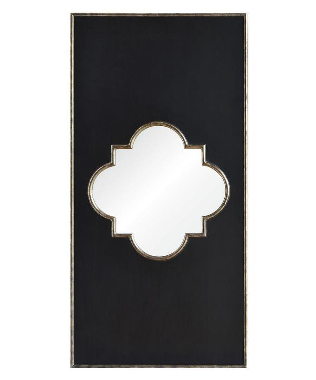 Kimber Black Frame Wall Mirror