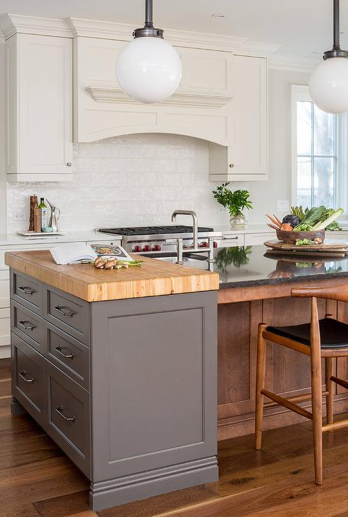 Amazing Butcher Block Kitchen Prep Island