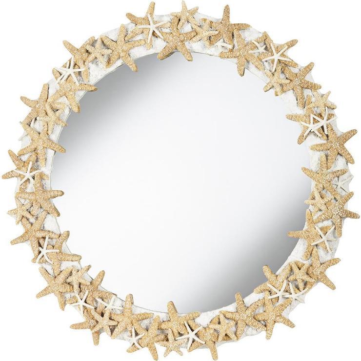 Pacific Coast Starfish Mirror