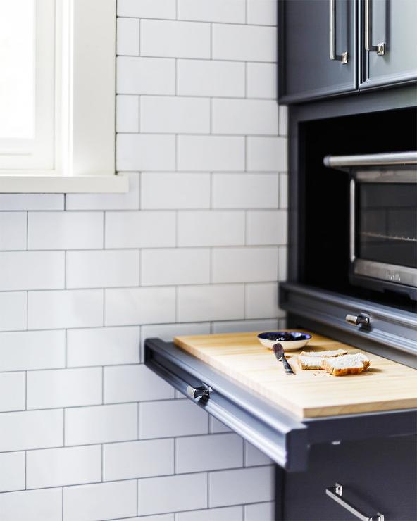 Toaster Oven Nook Design Ideas