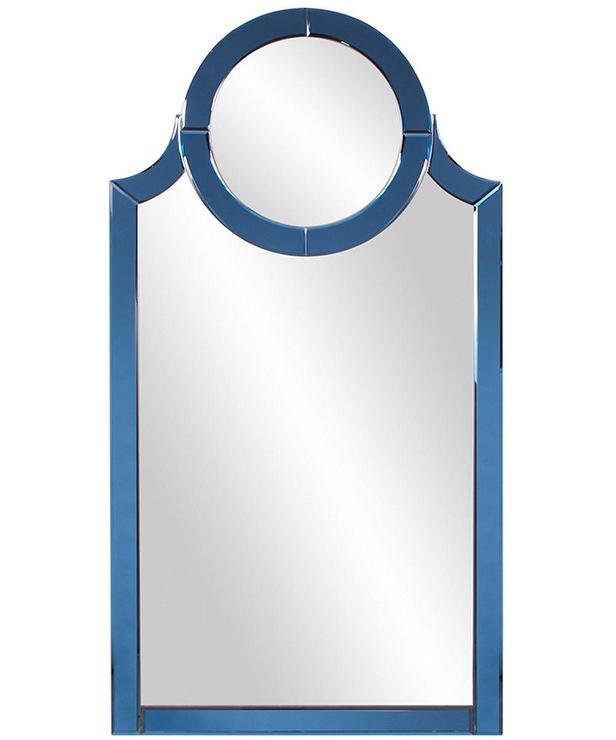 Norwalk Blue Circle Arched Wall Mirror 67a6019002b