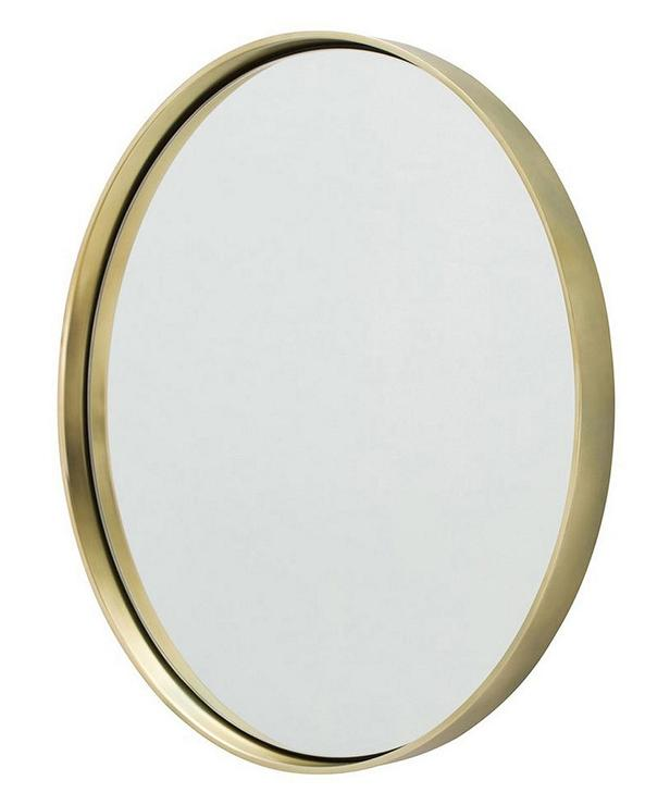 ollie oval gold mirror