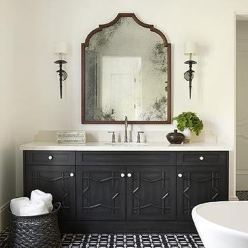 Moroccan Style Bathroom Vanity Design Ideas