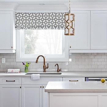 White Kitchen Sink Faucet white kitchen cabinets with copper hardware design ideas
