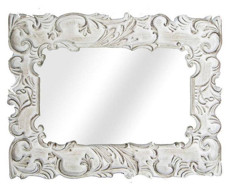 Black distressed mirror full size of a distressed mirror for Fancy white mirror
