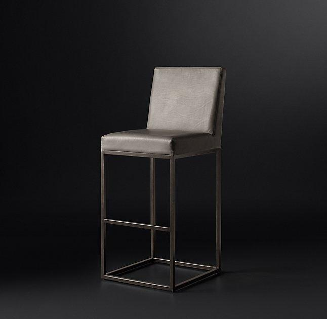 postmodern white stool