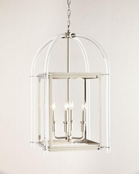 timeless design 9cda0 f00bf Lucite Lantern Pendant Light