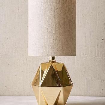 Nate Berkus Gold Table Lamp Base