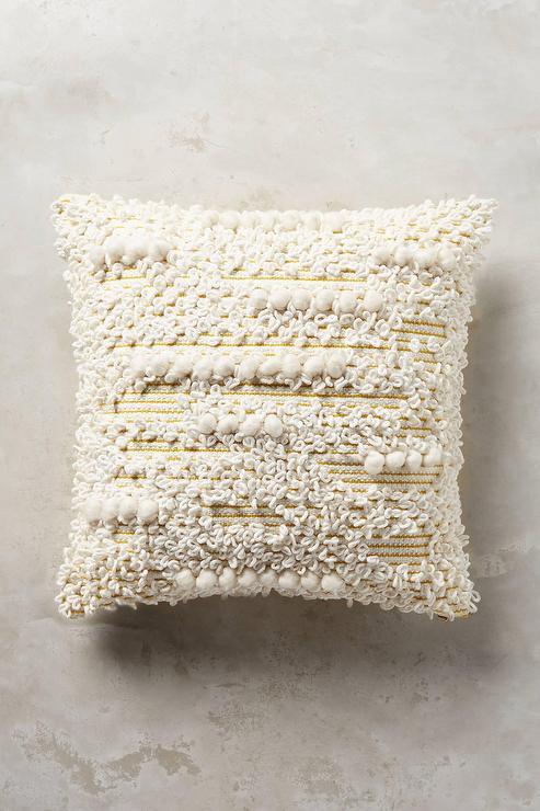 Guideline Boho White Woven Pillow