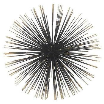 Starburst Wall Decor nate berkus gold starburst wall decor