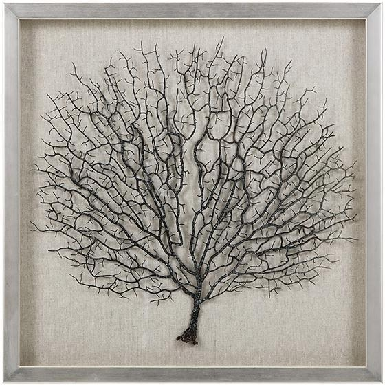 Sea Fan Coral Framed Wall Art