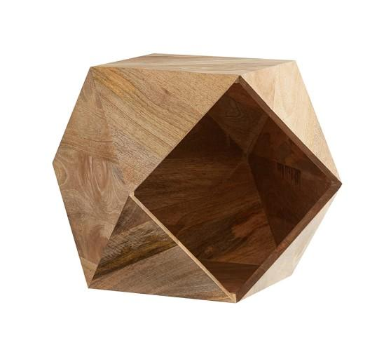 Hexagon Accent Table. Accent Table