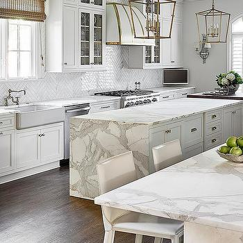Gray Leather Counter Stools Design Ideas