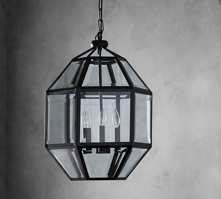 Spencer Faceted Indoor Outdoor Lantern Home Design Ideas