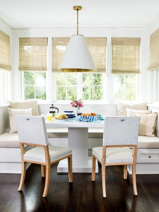 Dining banquette the most beautiful kitchen banquettes for U shaped dining room table