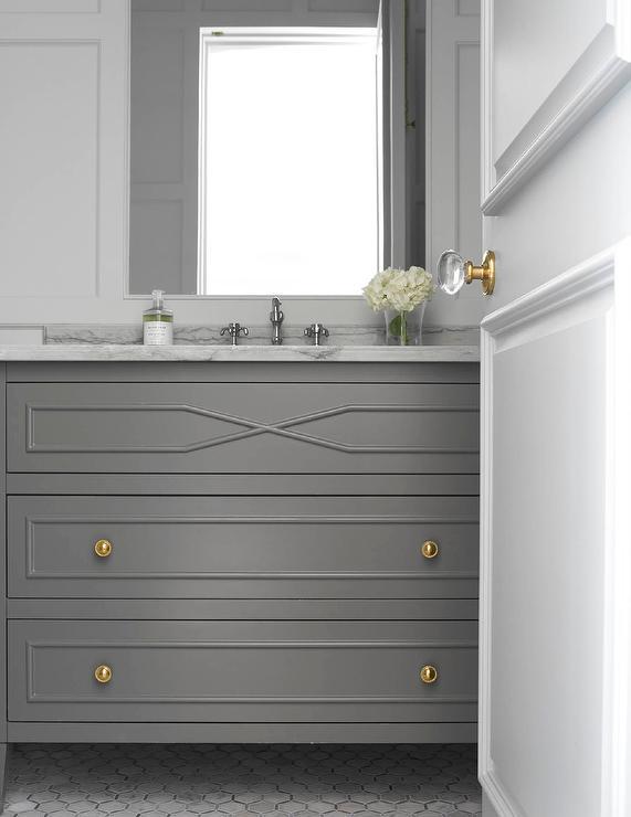 Terrific Dark Gray Bathroom Walls Design Ideas Interior Design Ideas Gresisoteloinfo