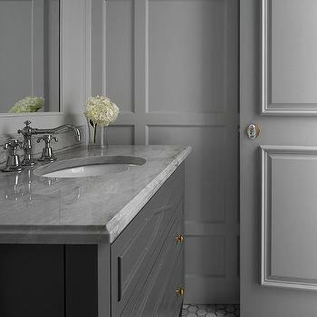 Oval Glass Bathroom Door Knob Design Ideas
