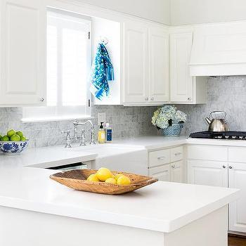 Off White Quartz Countertops Design Ideas, White Kitchen Cabinets And Quartz Countertops