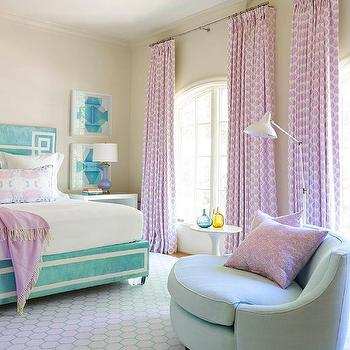 Groovy Lilac And Turquoise Blue Kid Bedroom Design Ideas Download Free Architecture Designs Photstoregrimeyleaguecom
