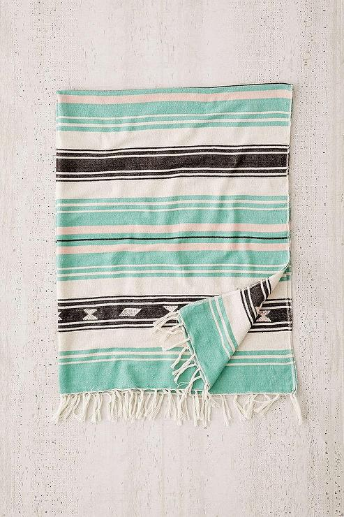 Moriah Stripe Throw Blanket Mesmerizing Lightweight Cotton Throw Blanket