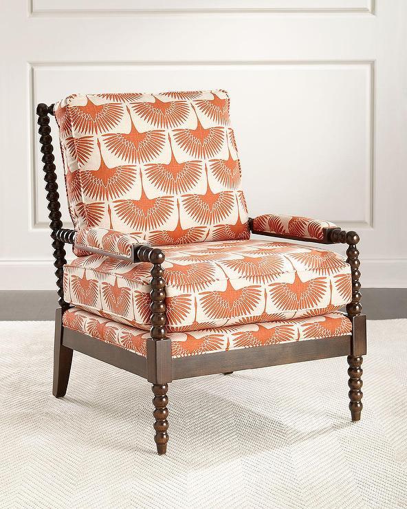 Marlow II White Side Chair