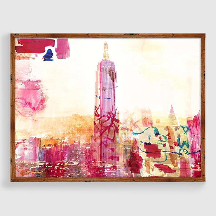 Urban Cityscape Framed Print