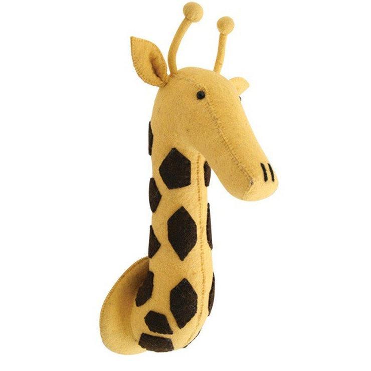 Fiona Walker Felt Giraffe Head