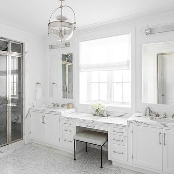 Master Bathroom Color Schemes white and gray master bathroom color scheme design ideas