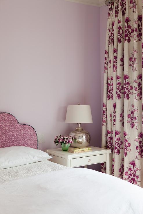 Purple Lavender Walls Design Ideas