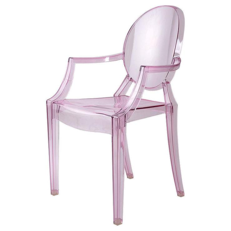 Hollywood Regency Karl Springer Clear Lucite Chair