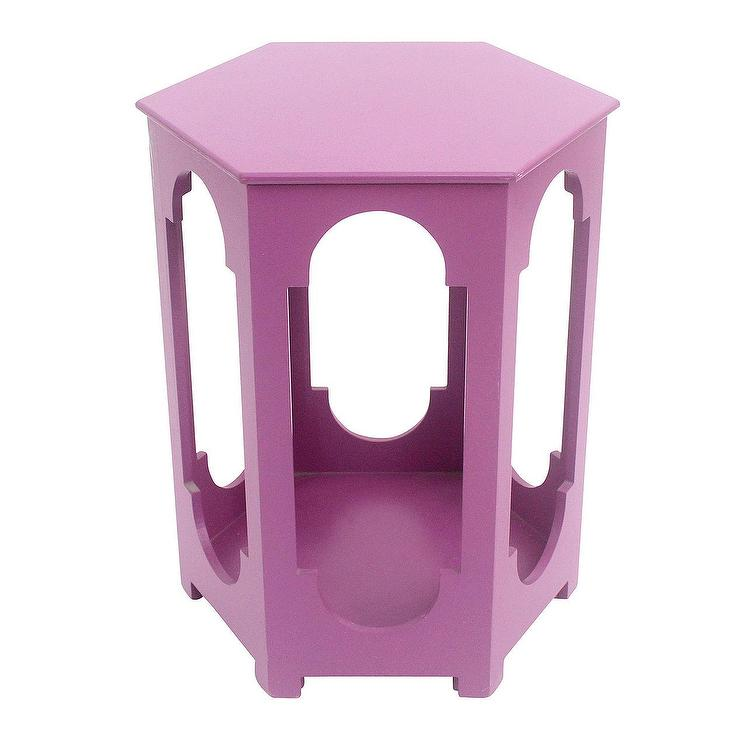 Pink Moroccan Night Stand Table