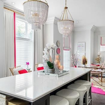 office chandeliers black white quartzite top work table island office chandeliers design ideas