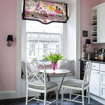 Pink And Black Kitchen Color Scheme Design Ideas