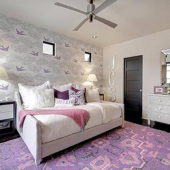 Bone Inlay Mirror Eclectic Bedroom Laura Martin