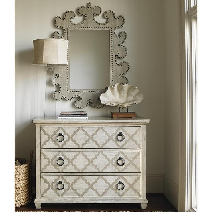 Lexington Oyster Bay Moroccan Stenciled Drawer Dresser