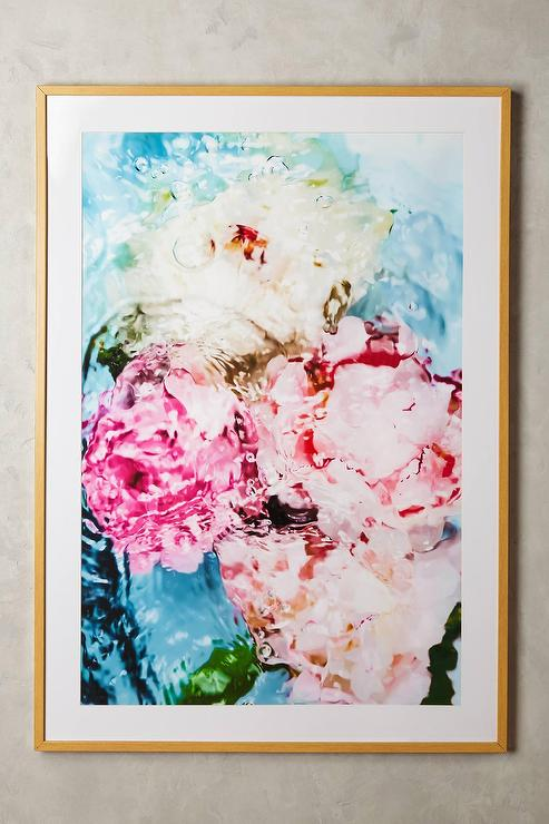 Abstract Floral No 5 Wall Art